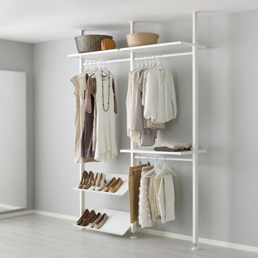 ikea clothes organization system