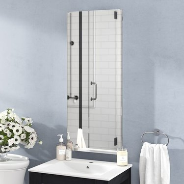 vertical bathroom medicine cabinet