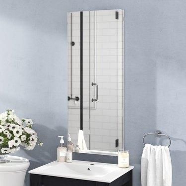 vertical bathroom medicine cabinet