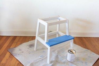 IKEA BEVKAM stool painted