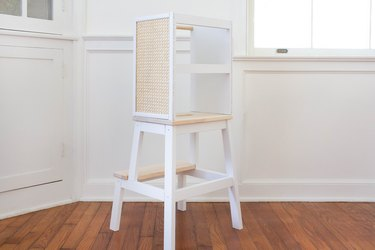 Learning tower using an IKEA stool