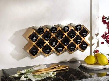 amazon criss-cross spice wall mount