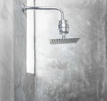 wall mounted rain showerhead