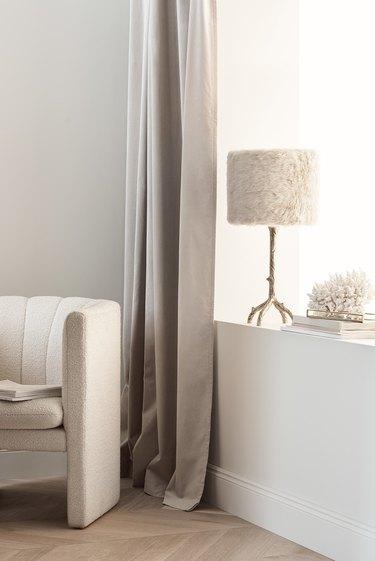 beige tone-on-tone room
