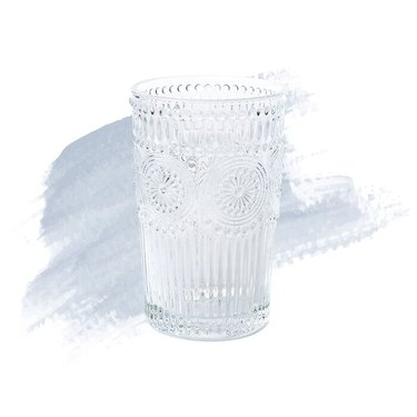 detailed drinking glass