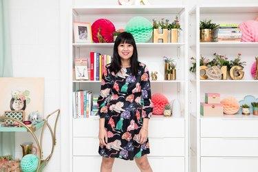 Joy Cho in her office