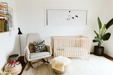 how to make a nursery safe for your baby