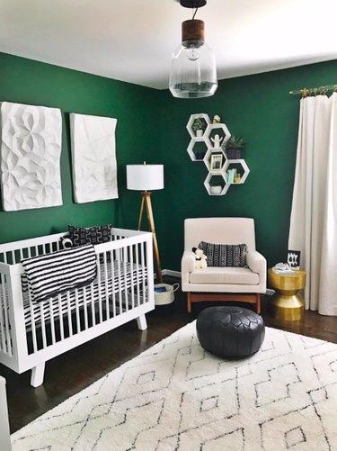 dark green nursery