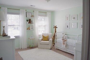light green nursery