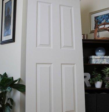 An interior passage door.