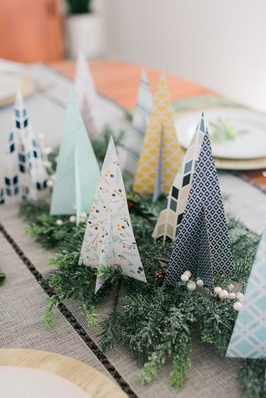 A handmade holiday centerpiece that you can use year after year.