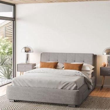 Allmodern Utley Storage Platform Bed