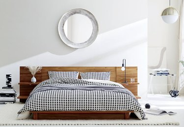 CB2 Andes Queen Storage Bed