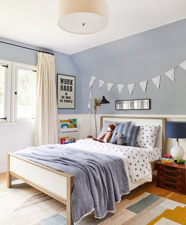 blue kids bedroom idea
