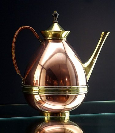 photograph of a coffee pot designed by William Arthur Smith Benson