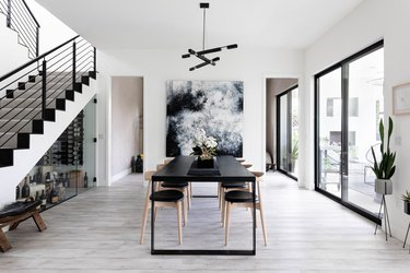 This Modern, Monochromatic Home Beckons Us