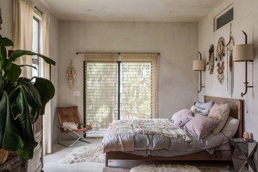 Bohemian-style bedroom