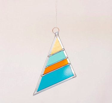 Debbie Bean Stained Glass Ornament, $35