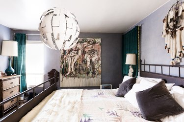 Maximalist bedroom decor