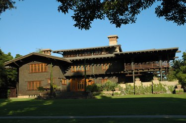 photograph of the gamble house