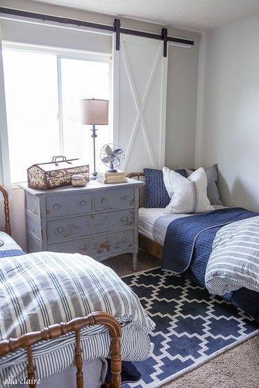 Ella Claire Farmhouse Bedroom