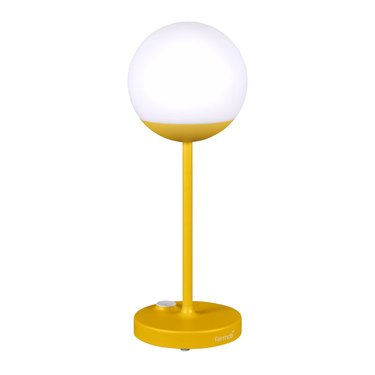 yellow outdoor table lamp