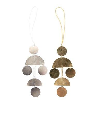 McGee & Co. Hinged Shape Ornament, $6