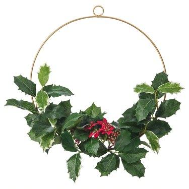 Ikea Smycka Artificial Wreath, $4.99