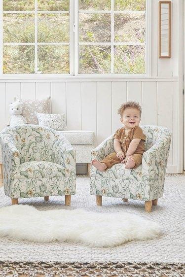 kids tub chair