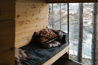 Wintertime window
