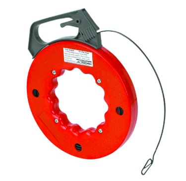Fish tape tool.