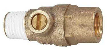 Test cock valve.