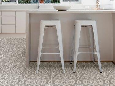 vinyl tile kitchen floor