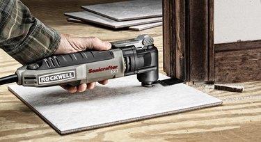 Undercutting a door jamb
