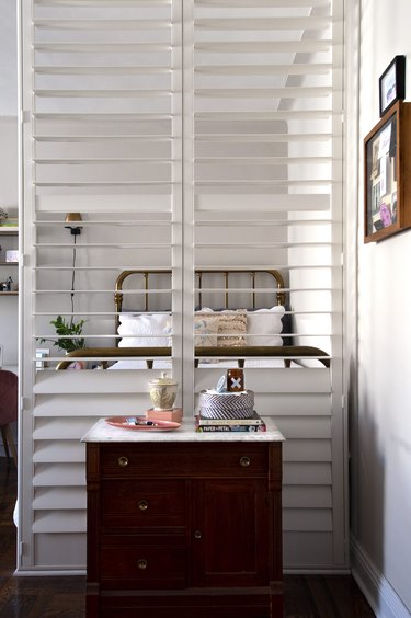 shutters, floor-to-ceiling