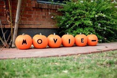 movie carved pumpkins