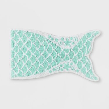 mermaid bath rug