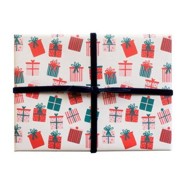 Mr. Boddington's Studio Present Gift Wrap (6 sheets), $20