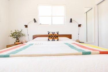 Desert chic bedroom
