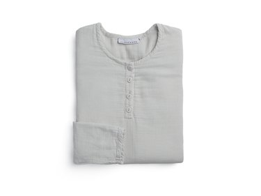 light gray sleep shirt