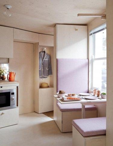 foldout kitchen
