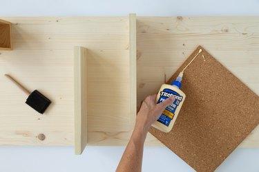 DIY Modern Wall Organizer supplies