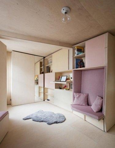 foldout apartment