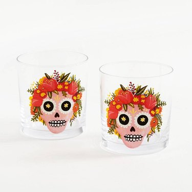PaperSource Sugar Skull Tumblers