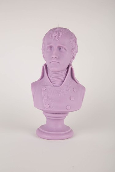 Die Kers Napoleon Bust in Lilac
