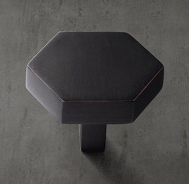 RH Lambeth Hexagonal Knob, $21