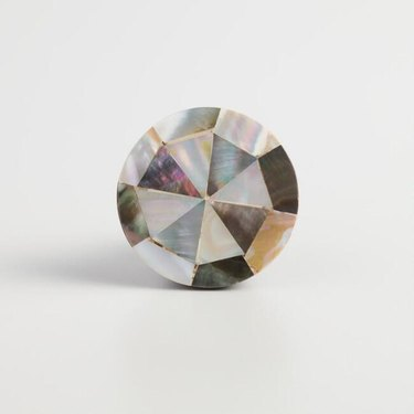 World Market Mother of Pearl and Wood Knobs (2), $11.98