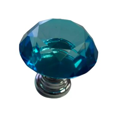 Beauty Acrylic Blue Cabinet Door Knob (2), $6.12