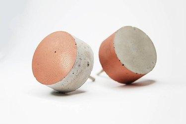 Whitewashed Shop Concrete Round Cabinet Knob, $6.86-$8