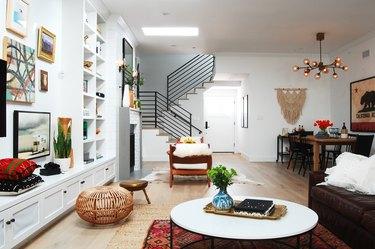 room dividing rugs